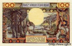 100 Francs type 1962 GABON  1962 P.03bs SUP+