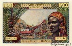 500 Francs type 1963 avec taille douce GABON  1963 P.04d pr.NEUF