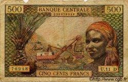 500 Francs type 1963 sans taille douce ÉTATS DE L