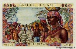 1000 Francs type 1962 avec taille douce ÉTATS DE L