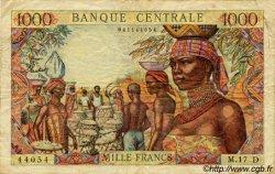1000 Francs type 1962 sans taille douce ÉTATS DE L