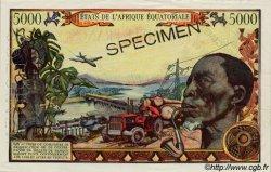 5000 Francs type 1962 TCHAD  1962 P.06as SUP+ à SPL