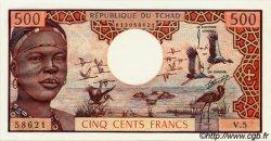 500 Francs type 1973 TCHAD  1973 P.02a SPL