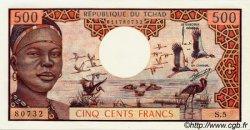 500 Francs type 1973 TCHAD  1973 P.02a NEUF