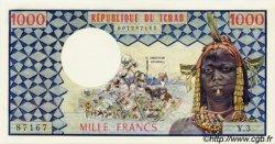 1000 Francs type 1973 TCHAD  1973 P.03a pr.NEUF