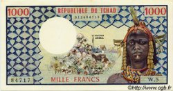 1000 Francs type 1973 TCHAD  1973 P.03a SPL+