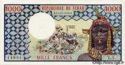 1000 Francs type 1973 TCHAD  1973 P.03a NEUF