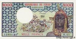 1000 Francs TCHAD  1978 P.03c pr.NEUF