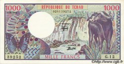 1000 Francs type 1980 TCHAD  1980 P.07 pr.SPL