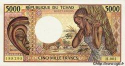 5000 Francs type 1984 TCHAD  1984 P.11