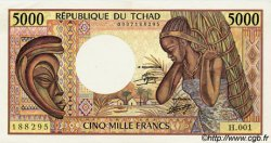 5000 Francs TCHAD  1984 P.11 pr.NEUF