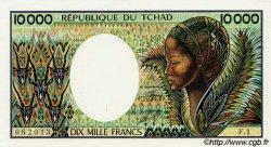 10000 Francs type 1983 TCHAD  1983 P.12 pr.NEUF