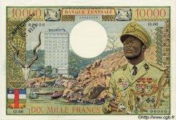 10000 Francs CENTRAFRIQUE  1968 P.07s SUP