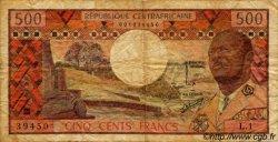 500 Francs CENTRAFRIQUE  1974 P.01 B+