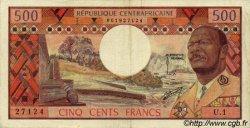 500 Francs CENTRAFRIQUE  1974 P.01 TTB