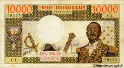 10000 Francs CENTRAFRIQUE  1978 P.08 TB