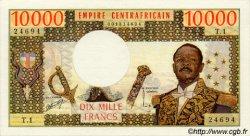 10000 Francs type 1975 / 1978 CENTRAFRIQUE  1978 P.08 SPL