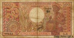 500 Francs type 1980 CENTRAFRIQUE  1981 P.09 B