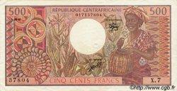 500 Francs type 1980 CENTRAFRIQUE  1981 P.09 TTB