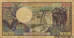 1000 Francs CENTRAFRIQUE  1980 P.10 B+