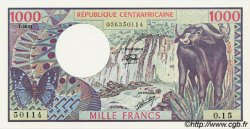 1000 Francs CENTRAFRIQUE  1981 P.10 NEUF