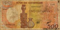 500 Francs type 1984 CENTRAFRIQUE  1985 P.14a B