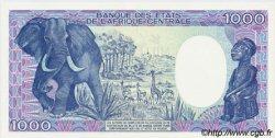 1000 Francs type 1984 CENTRAFRIQUE  1986 P.16 pr.NEUF