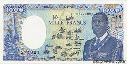 1000 Francs type 1984 CENTRAFRIQUE  1989 P.16 NEUF