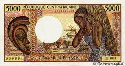 5000 Francs type 1984 CENTRAFRIQUE  1984 P.12a SUP+