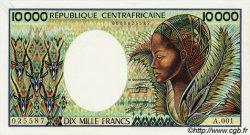 10000 Francs CENTRAFRIQUE  1983 P.13 pr.NEUF