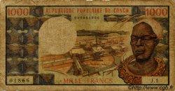 1000 Francs CONGO  1973 P.03a B