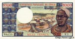 1000 Francs type 1973 CONGO  1973 P.03b NEUF