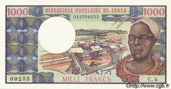 1000 Francs type 1973 modifié CONGO  1973 P.03c NEUF