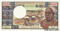 1000 Francs CONGO  1982 P.03e NEUF