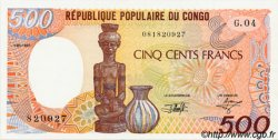 500 Francs type 1984 CONGO  1991 P.08d NEUF