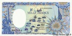 1000 Francs CONGO  1985 P.09 NEUF