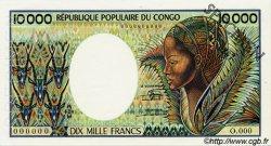 10000 Francs CONGO  1983 P.07s SUP+