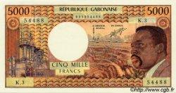 5000 Francs GABON  1971 P.04b pr.NEUF
