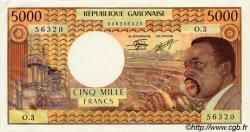 5000 Francs type 1971/1973 GABON  1971 P.04c pr.NEUF