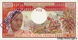 500 Francs type 1973/1978 GABON  1978 P.02bs pr.NEUF