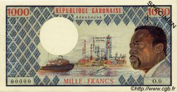 1000 Francs type 1973 GABON  1973 P.03as pr.NEUF