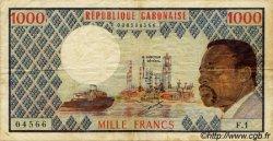 1000 Francs type 1973 GABON  1973 P.03a TB à TTB