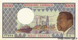 1000 Francs type 1973 GABON  1973 P.03c SUP