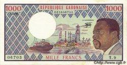 1000 Francs type 1973 GABON  1978 P.03d SUP
