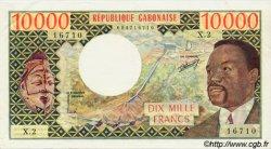 10000 Francs type 1971/1974 GABON  1974 P.05a SUP