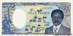 1000 Francs type 1984 modifié GABON  1991 P.10b SUP
