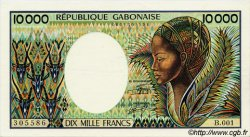 10000 Francs type 1983 GABON  1983 P.07a SUP