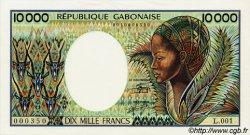 10000 Francs type 1983 GABON  1983 P.07a pr.NEUF