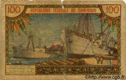 100 Francs type 1962 CAMEROUN  1962 P.10 pr.B