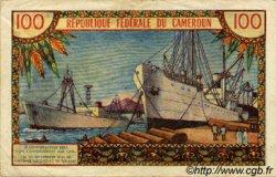 100 Francs type 1962 CAMEROUN  1962 P.10 TTB